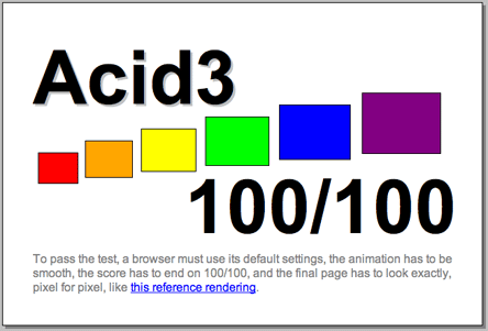 Chrome against Acid Test 3