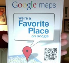 Snail mail marketing from Google